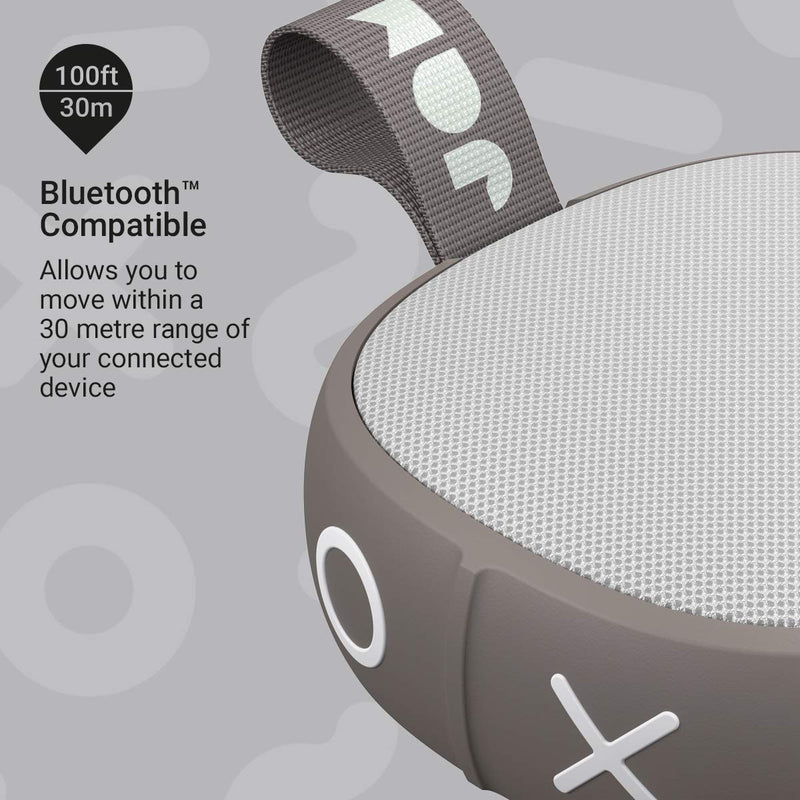 Jam Hang Up Shower Speaker - Grey