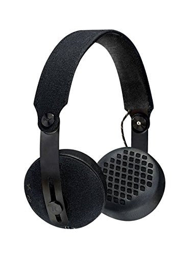 Marley Headphones The House Of Marley Rise Bluetooth Wireless Headphones - Black. - siopashop.ie