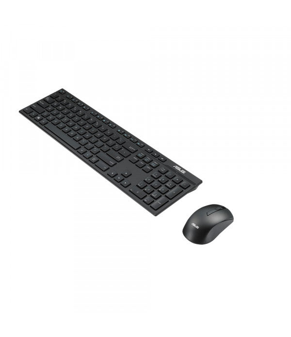 Keyboard ASUS Wireless QWERTY Keyboard - Black - siopashop.ie
