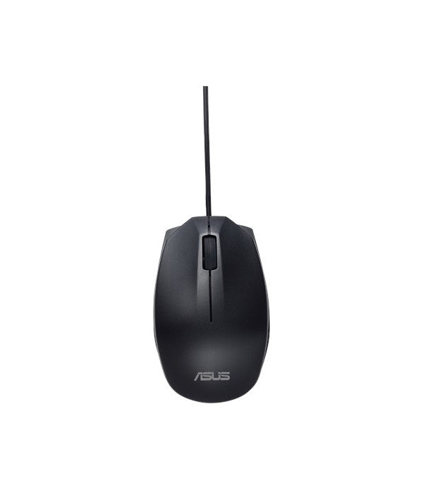 ASUS USB Ambidextrous Wired Mouse - Black