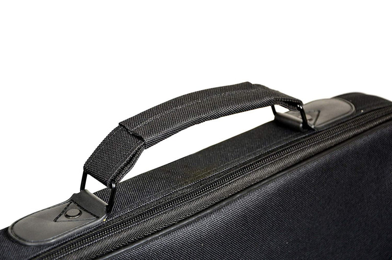 "Port Designs 15.6"" Briefcase - Black/Red"