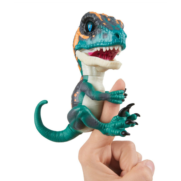 WowWee Fingerlings baby velociraptor - Fury (blue-turquoise)