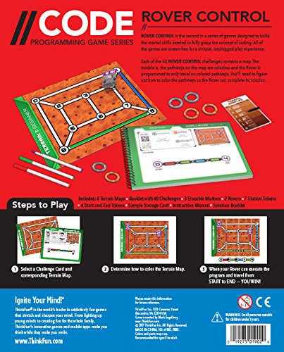 Coding Game Coding Board Game - Rover Control - siopashop.ie