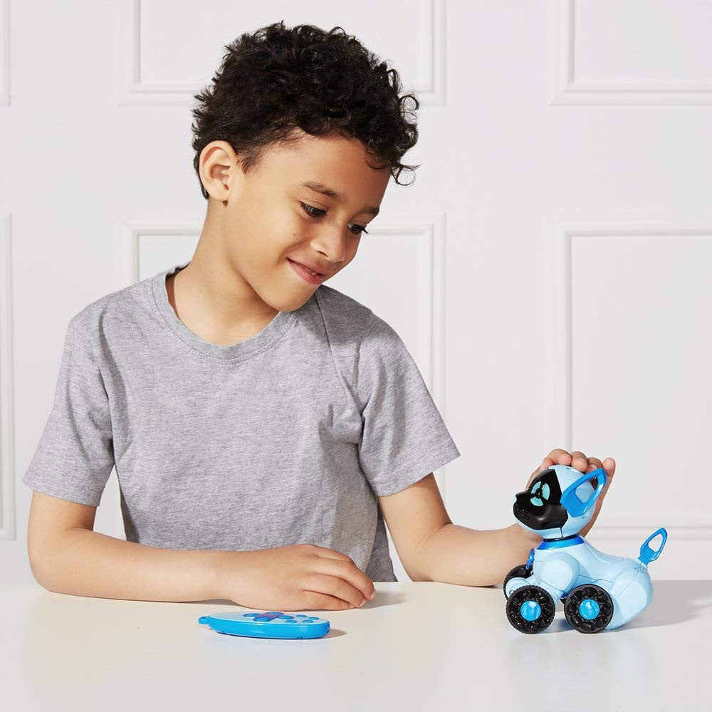 Robot Dog CHiPPiES Interactive Robot Puppy - Chipper (Blue) - siopashop.ie