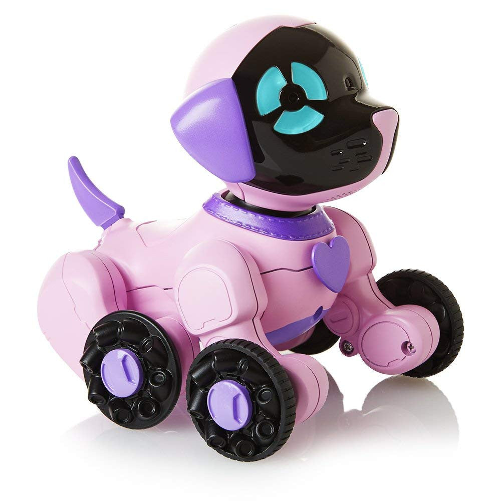 Robot Dog CHiPPiES Interactive Robot Puppy - Chippette (Pink-Purple) - siopashop.ie
