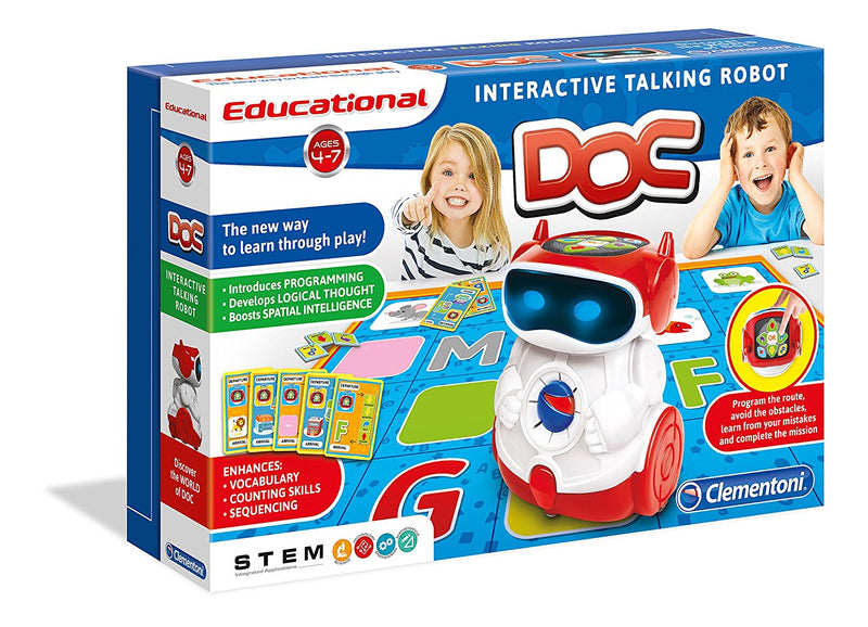 Clementoni DOC Educational Smart Robot - English