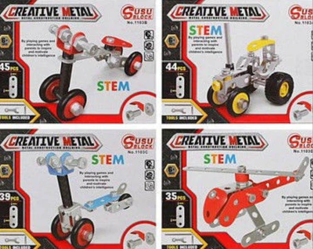 Creative Metal Creative Metal Construction Kit - siopashop.ie