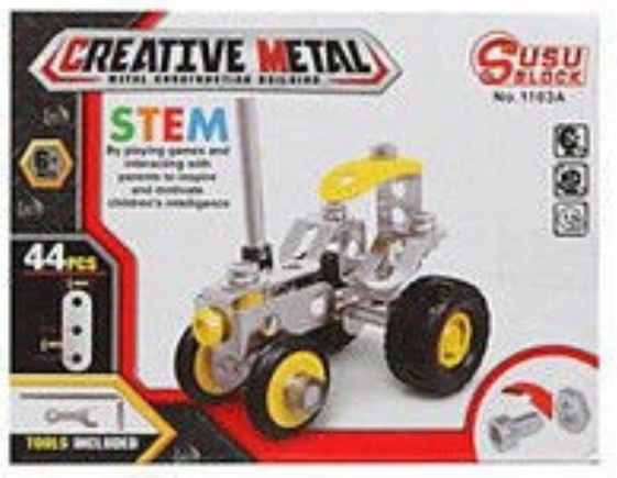 Creative Metal Creative Metal Construction Kit - siopashop.ie Tractor