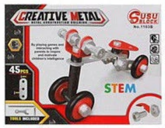 Creative Metal Creative Metal Construction Kit - siopashop.ie Quad Bike