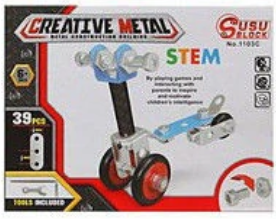 Creative Metal Creative Metal Construction Kit - siopashop.ie Scooter
