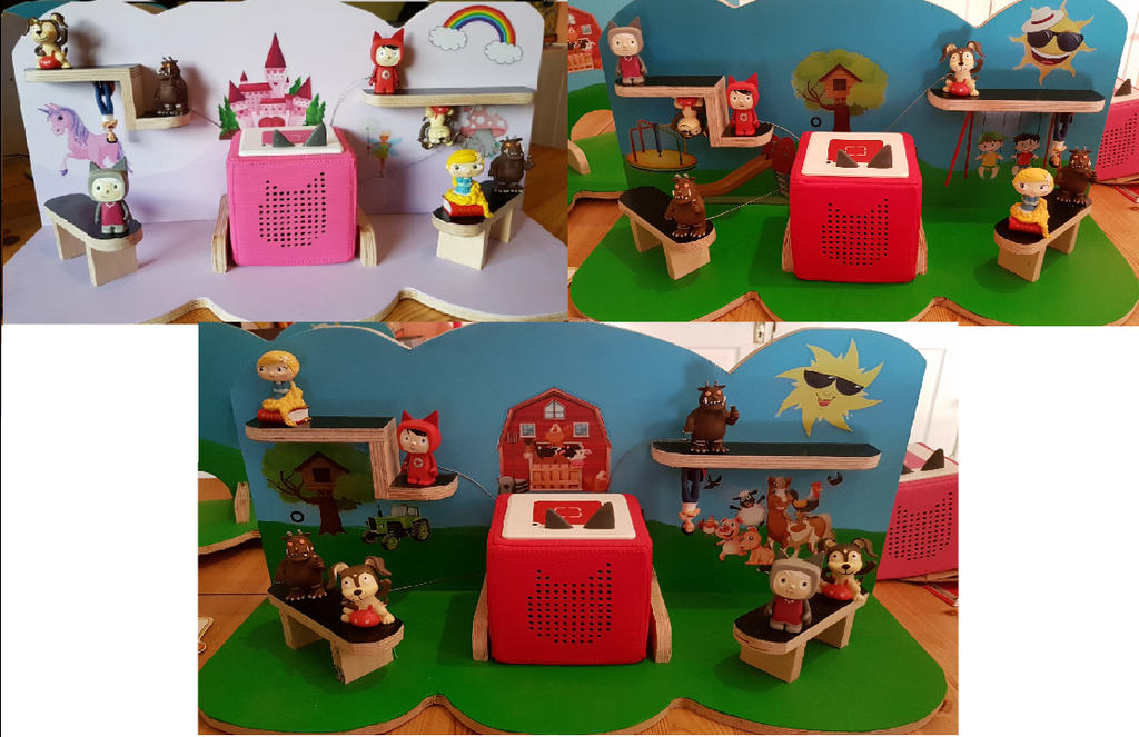 Tonie Shelves Handcrafted Siopashop Toy Shelves (Tonie Compatible) - siopashop.ie