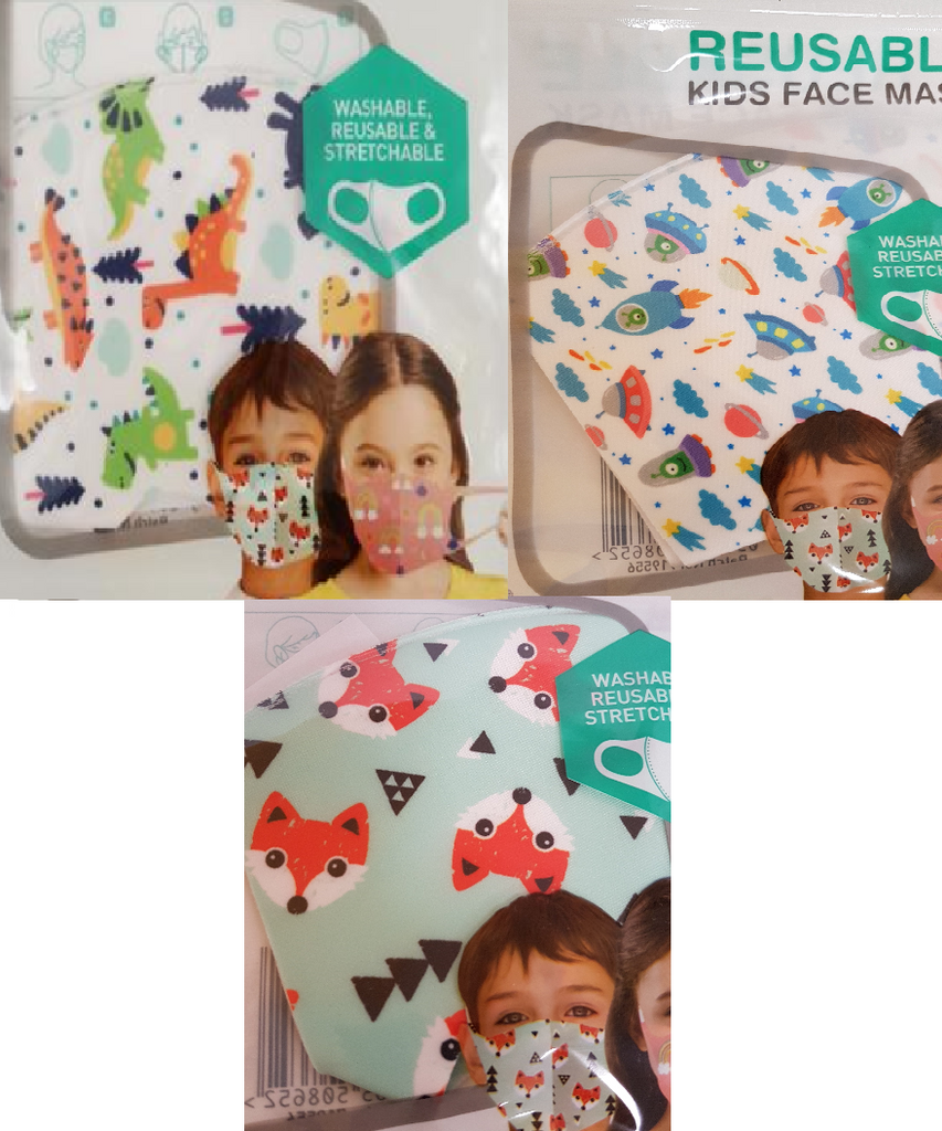 Kids Face Mask Kids Face Mask Bundle Packs - siopashop.ie Boys