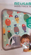 Kids Face Mask Kids Reusable Face Masks - siopashop.ie Fish