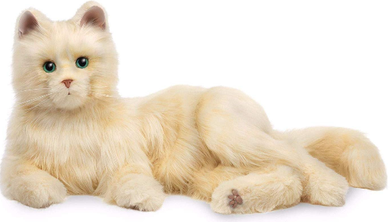 Interactive Pet Interactive Companion Cats - Various - siopashop.ie Creamy White