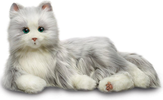 Interactive Pet Interactive Companion Cats - Various - siopashop.ie Silver & White