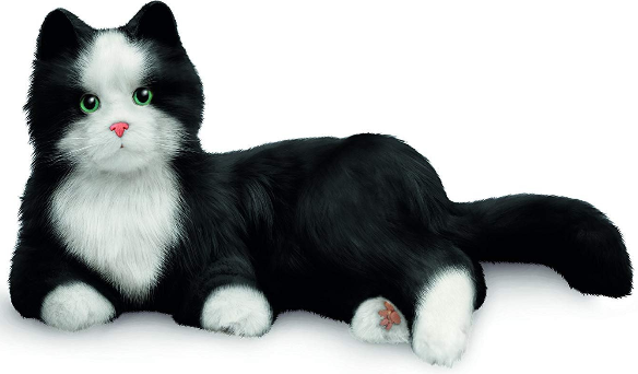 Interactive Pet Interactive Companion Cats - Various - siopashop.ie Black & White