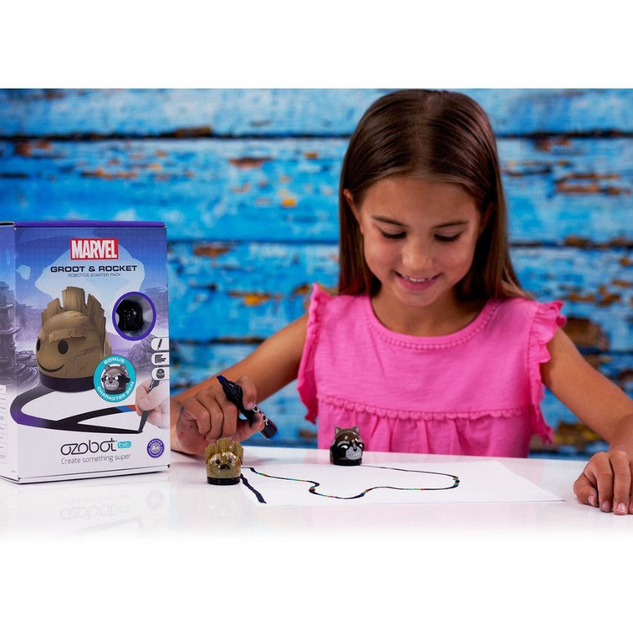 Ozobot Starter Pack Ozobot 2.0 Bit Starter Pack - Guardians of the Galaxy - siopashop.ie