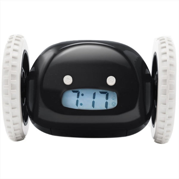 Clocky Robot Alarm Clock - Black
