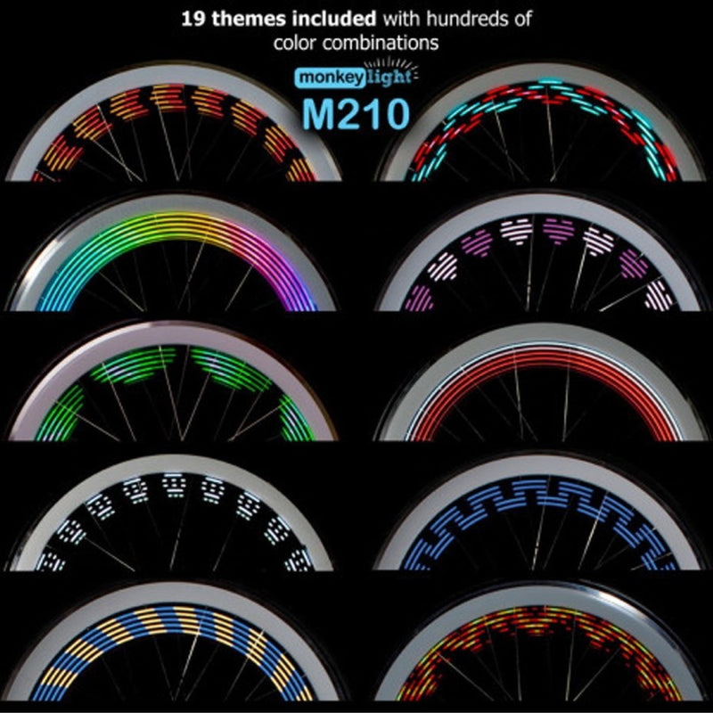 Bicycle Wheel Light 19 themes