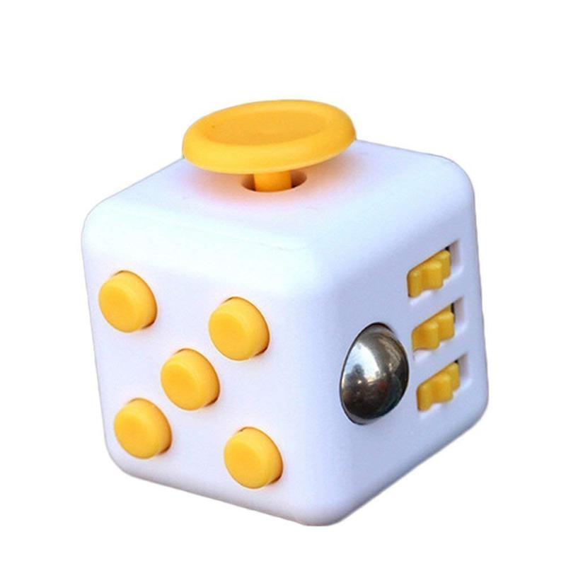 Fidget Cube Fidget Cubes - siopashop.ie White/Orange