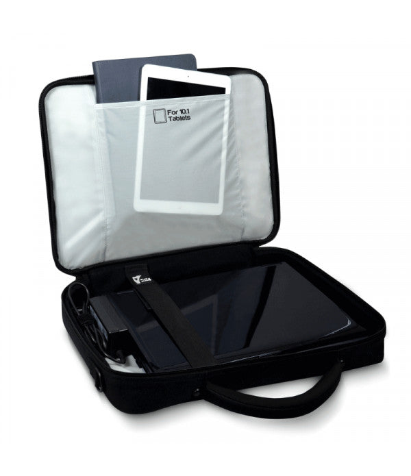 "Laptop Bag Port Designs 15.6"" Laptop Briefcase - Black - siopashop.ie"