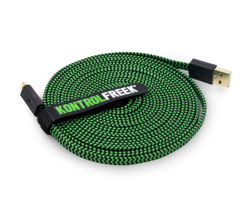 Gaming Cable Kontrol Freek 12ft Gaming Cable - Green - siopashop.ie