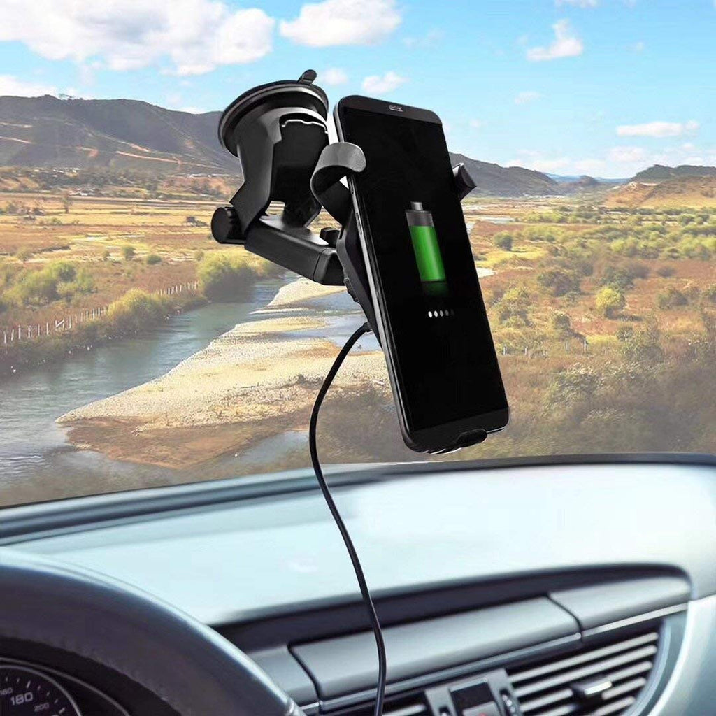 Car Charger/Holder Fast Wireless Charger for both Home and Car - siopashop.ie