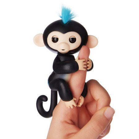 Happy Monkey Happy Monkey Finger Toys - siopashop.ie Black