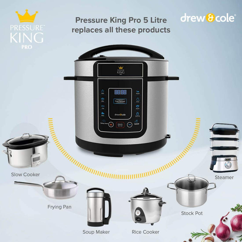 Pressure King Pro 5L - Chrome