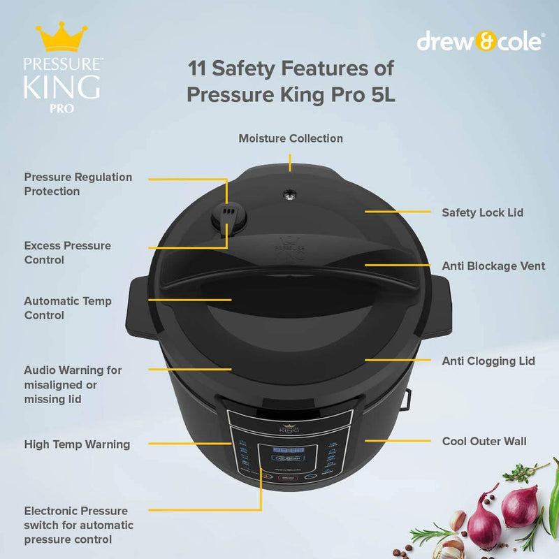 Pressure King Pro Pressure King Pro 5L - Chrome. - siopashop.ie