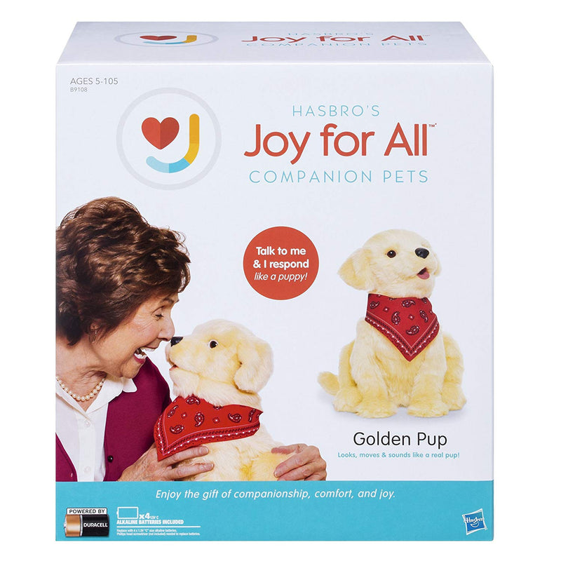 Interactive Companion Robot Toy Dog - Golden Pup