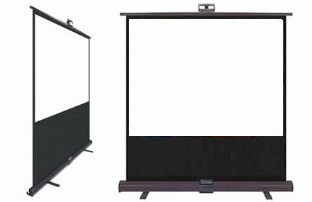 "72"" 4:3 Pull-Up Projector Screen"