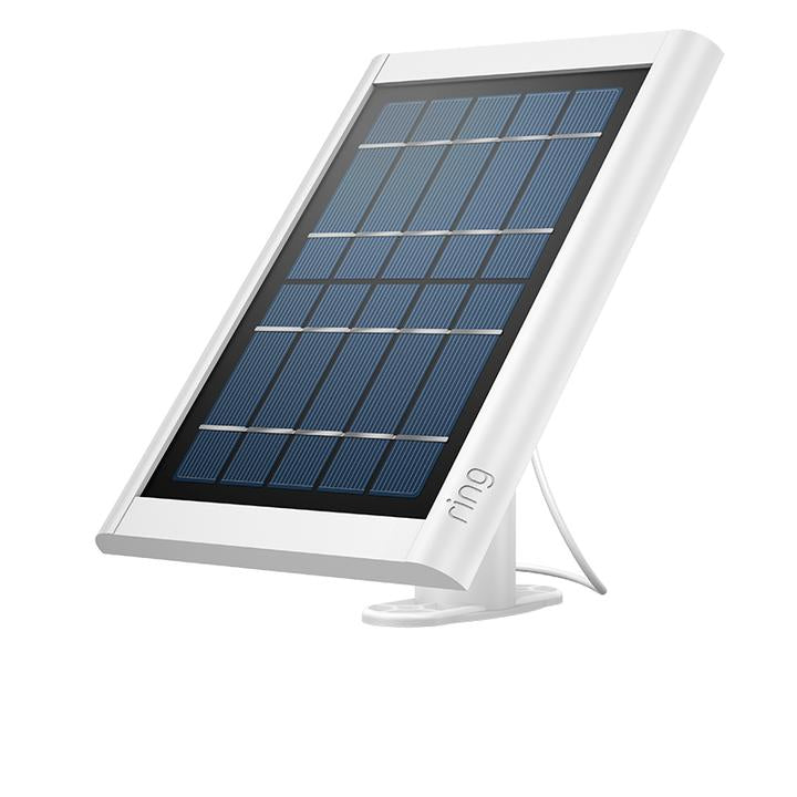 Ring Solar Panel Ring Charging Solar Panel - White - siopashop.ie