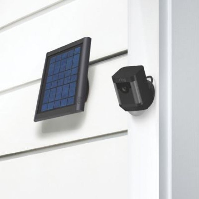 Ring Solar Panel Ring Charging Solar Panel - Black - siopashop.ie