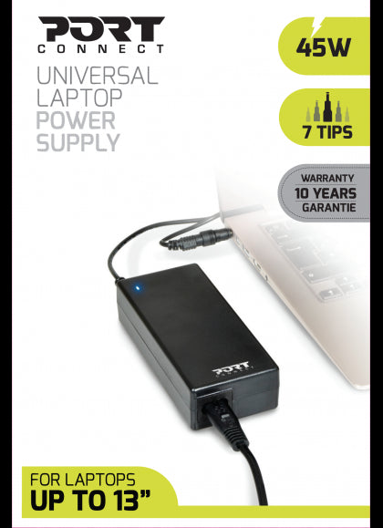 Universal Laptop Power supply 45W