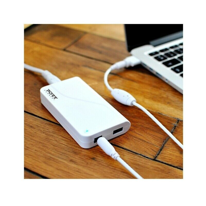Port Universal Power Supply/USB for Apple Macbook