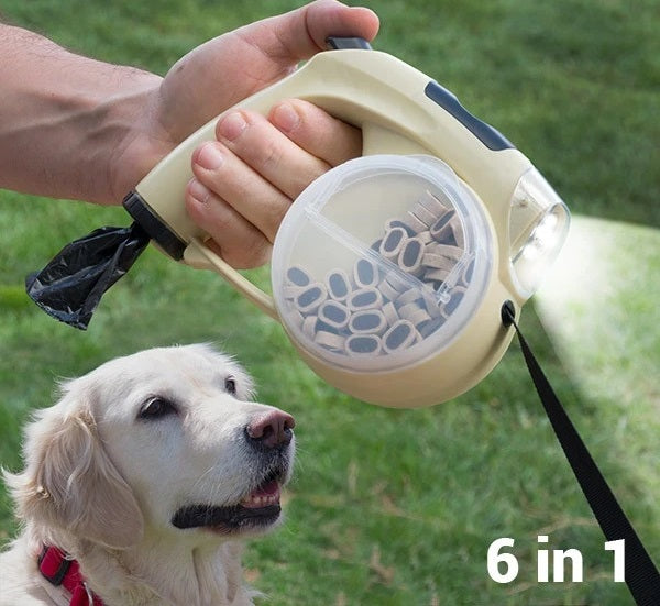 6 in 1 Retractable Pet Lead