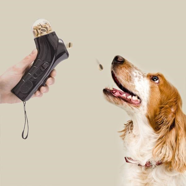 Dog Treat Launcher Click & Treat Pet Food Launcher - siopashop.ie