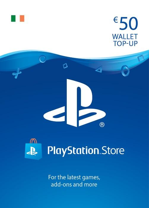 Playstation Giftcard Playstation €50 Gift Card - siopashop.ie