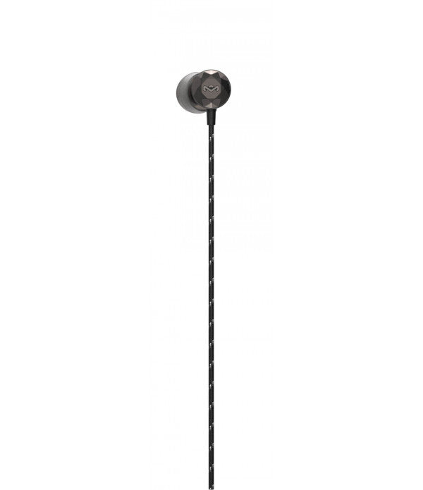 The House Of Marley In-ear Noise Isolating Earphones - Black.
