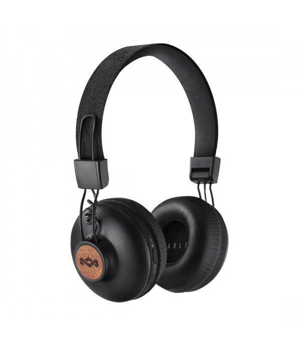The House Of Marley Positive Vibration 2 Wireless Headphones - Black.