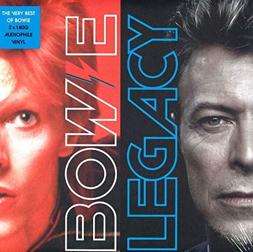 "David Bowie 12"" Vinyl - Legacy - The Best of Bowie"