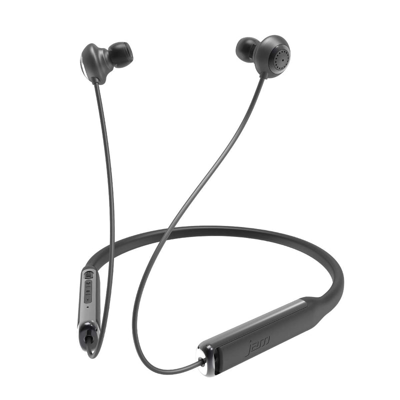 Jam Wireless Earphones JAM Contour Noise Cancelling Earbuds - Black. - siopashop.ie