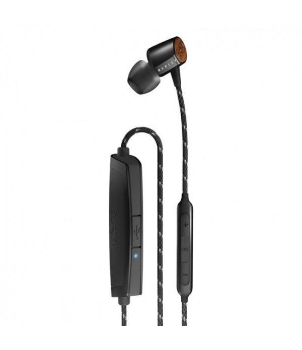 The House of Marley Uplift 2 Wireless In ear headphones - Black
