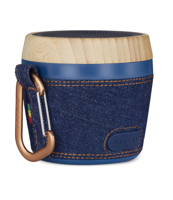 Marley Speaker The House Of Marley Chant Mini Mono Portable Speaker - Denim. - siopashop.ie
