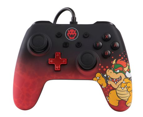 Nintendo Switch Controller Wired Controller for Nintendo Switch - Bowser - siopashop.ie