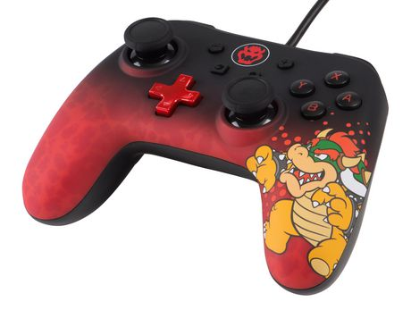 Wired Controller for Nintendo Switch - Bowser