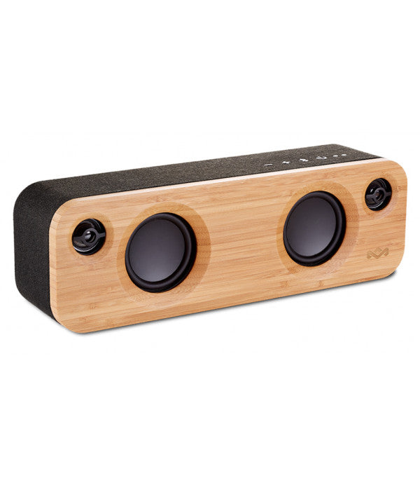 The House Of Marley Get Together Mini Mono Portable Speaker - Black.