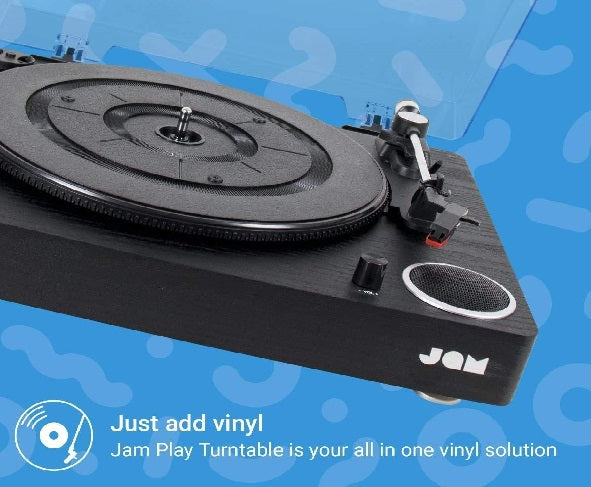 Jam Turntable Jam Play All in One Turntable - siopashop.ie