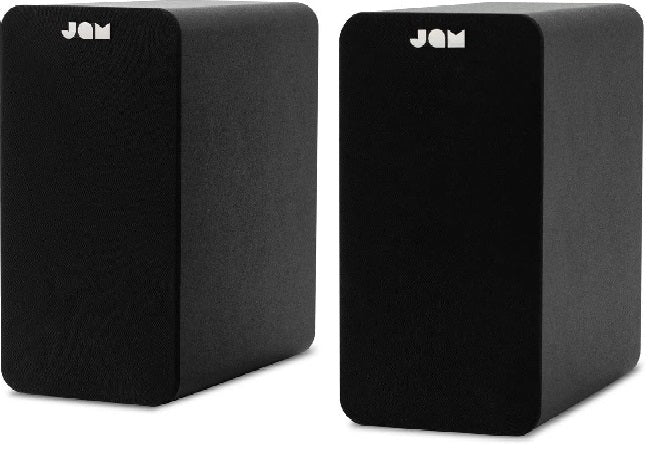Jam Speakers Jam Bookshelf Speakers - siopashop.ie Black